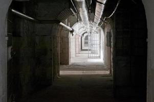 fängelse cell dörr foto