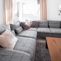 koppla av med soffa foto