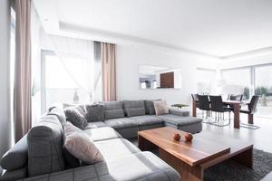lounge och matsal foto