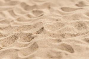 torr sand konsistens foto