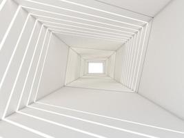 Tolkning 3d av en tunnel foto