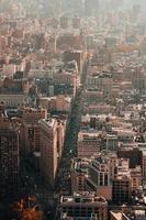 flygfotografering av staden