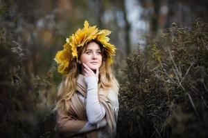 skönhet på hösten foto
