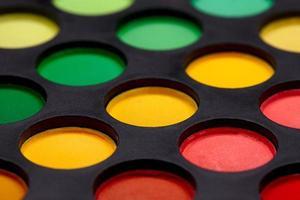 ögonskuggor palett foto