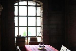 interiör i restaurangen foto