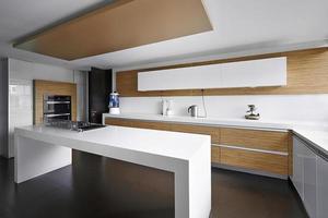 inredning: modernt stort kök foto