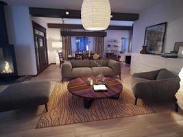 modernt vardagsrum foto