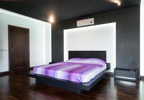 vackert sovrum inredning foto