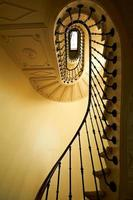 gamla och klassiska trappor foto
