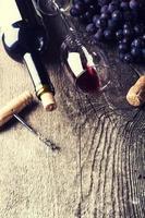 mörkt vin foto