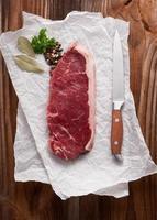 rått kött foto