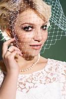 perfekt blondin foto