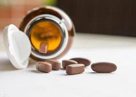 droger eller vitaminer foto