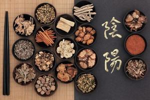 yin och yang terapi foto