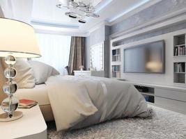 sovrum modern neoklasika foto