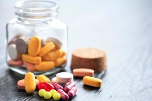 olika piller foto