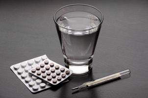 vatten och piller