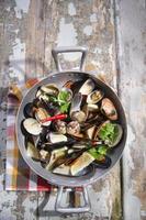 soppa skaldjur foto