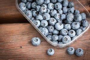 färska sommarbär. hälsosam mat foto