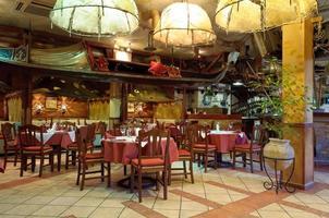 italiensk restaurang foto