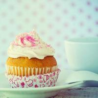 kopp tårta foto