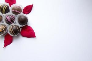 blandad choklad foto