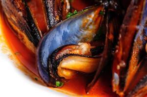 musslor i italiensk rustik stil