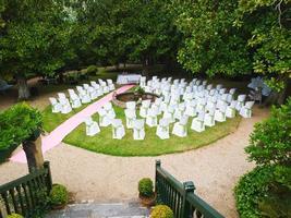 plats för ett bröllop foto