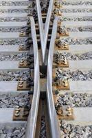järnvägskorsväg foto