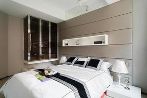 modernt sovrum foto