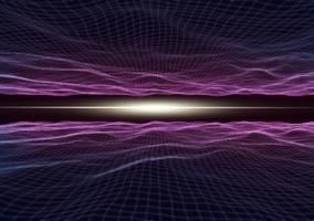 futuristiskt gränssnittsbakgrund foto