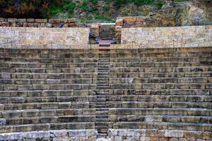 ruiner av en forntida byggnad foto