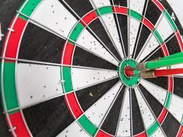 bullseye på nära håll foto