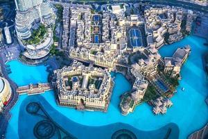 Flygfoto över staden Kalifa foto