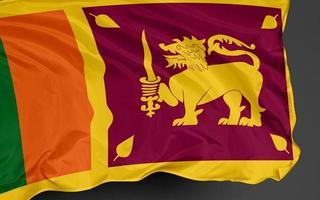 Sri Lanka flagga