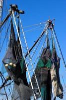 kommersiella fiskenät foto