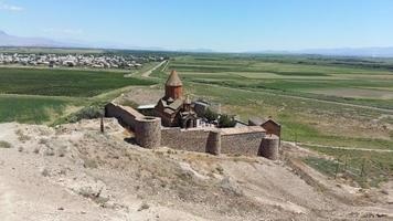 forntida armeniskt kloster foto