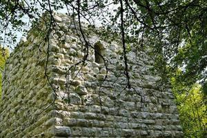 ruinerna av ett slott foto