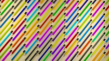 färgade pennmönster