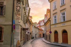 Prag stadshorisont