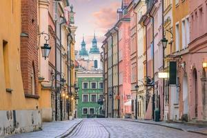 gamla stan i Warszawa Polen