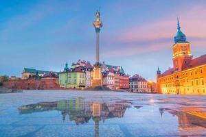 gamla stan i Warszawa, Polen