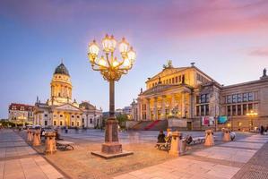 gendarmenmarkt torget berlin foto