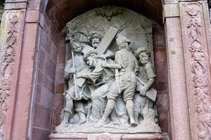 religiöst minnesmärke i hammelburg foto