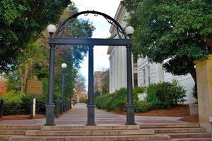 ingången till Georgiens universitet
