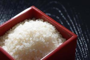 japanskt ris koshihikari foto