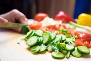 grönsaker i köket