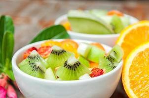 fruktsallad för friska