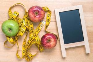 hälsosam kost koncept foto