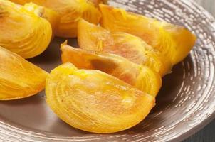 persimonfrukt foto